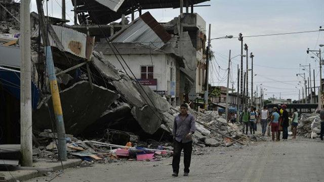 Terrible terremoto en ecuador de 7,8