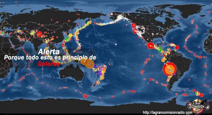 Amenaza de Sismos en el Pacífico: expertos pronostican un mega terremoto.