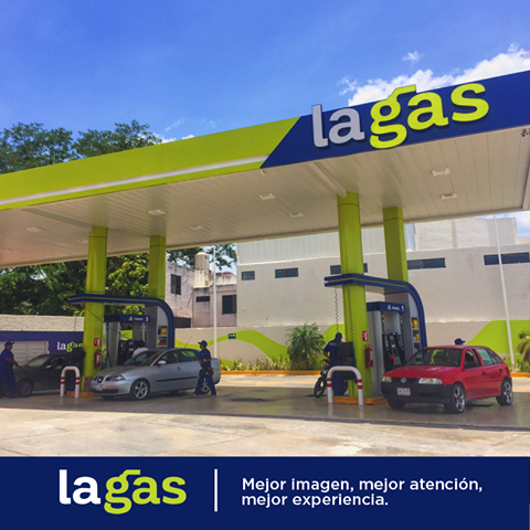 La Gas gasolinera alternativa con bajos precios