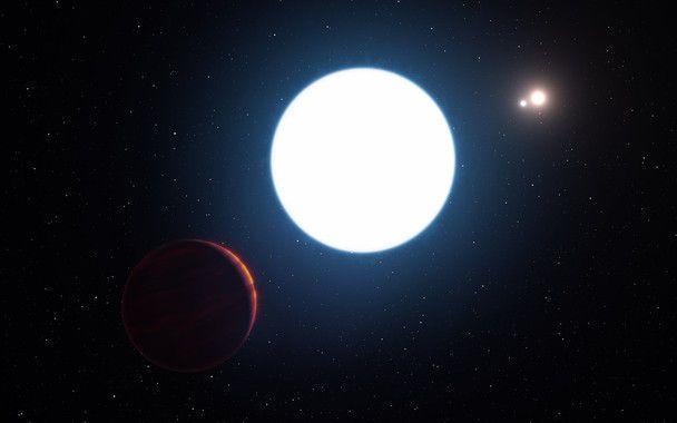 planeta y 3 soles